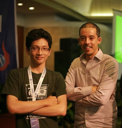 Me & Karim Osman of Automattic
